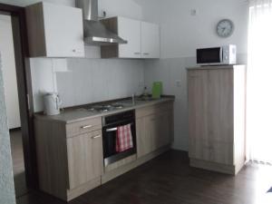 Küche/Küchenzeile in der Unterkunft Appartements Vermietung