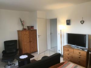 TV/Unterhaltungsangebot in der Unterkunft Appartement Zahn