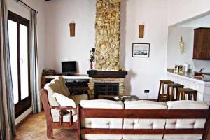 A seating area at Casa Rural Elanio Azul