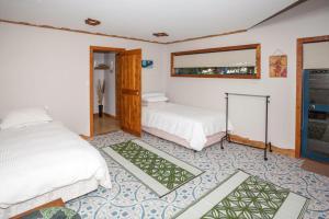เตียงในห้องที่ Reefers