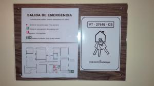The floor plan of Apartamento Rural La Plaza Vieja