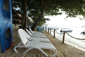 Zona de estar de The Barat Perhentian