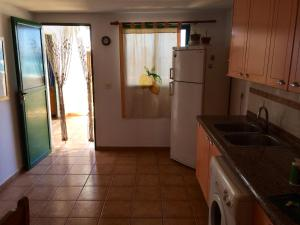 Una cocina o zona de cocina en Casa Chanin