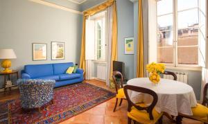 Een zitgedeelte bij Palazzo Alfani - Residenza d'Epoca