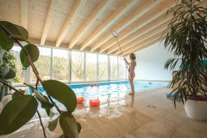 Der Swimmingpool an oder in der Nähe von Dauscher Hof