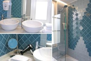 A bathroom at Lisbon Colours Bairro Alto Apartments