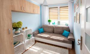 A seating area at Best Location Apartment Bernardyńska