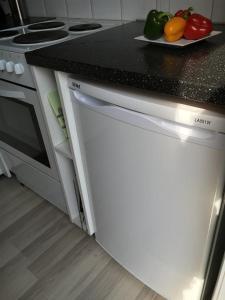 Havreveien Apartment tesisinde mutfak veya mini mutfak