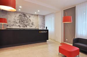 The lobby or reception area at BB Hotels Aparthotel Visconti