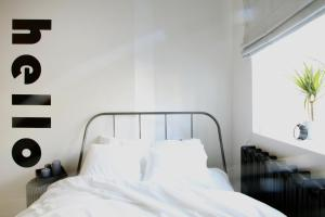 Łóżko lub łóżka w pokoju w obiekcie Bunga Apartament