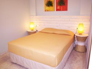 Krevet ili kreveti u jedinici u okviru objekta Saint Nicholas Beach Apartments