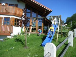 Children's play area at Ferienwohnung Ott