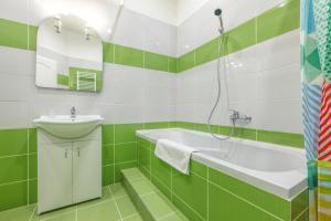 Ένα μπάνιο στο Modern Apartment Zitna