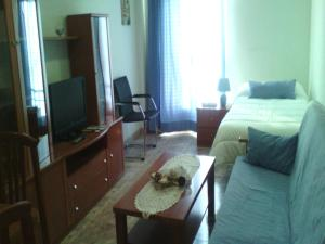 A seating area at Apartamentos Emperatriz