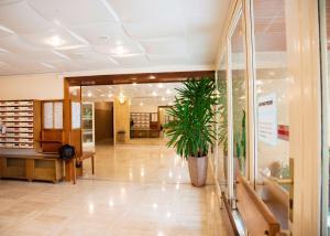 Lobby/Rezeption in der Unterkunft Les Ibis parking et Wifi