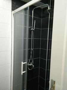 Ванная комната в Apartment Metulevi
