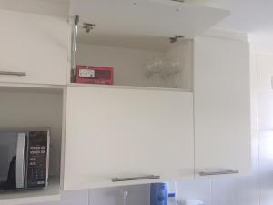 Virtuve vai virtuves aprīkojums naktsmītnē Linda Vista no Recreio