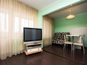 A television and/or entertainment center at ApartLux Yugo-Zapadnaya Studio