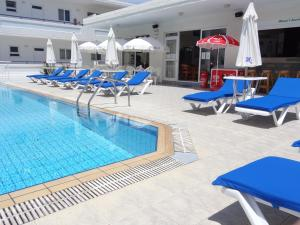 The swimming pool at or near Michalis Studios & Apartments