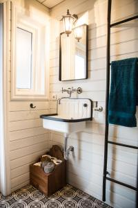 A bathroom at Gullfoss & Geysir Luxury Cabin