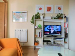 A television and/or entertainment center at Apartment Verde