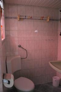 Ein Badezimmer in der Unterkunft Ferienhaus in Neubukow