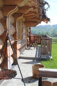 A patio or other outdoor area at Sun&Ski Maciejówka