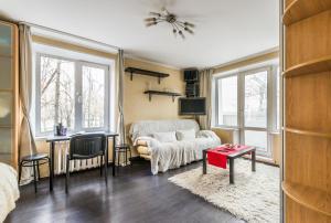 A room at Cozy Studio on Yugo-Zapadnaya