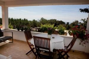 A balcony or terrace at Apartment Dita