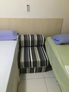 A seating area at Apartamento Beira Mar Manaíra