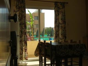 Обеденная зона в апарт-отеле