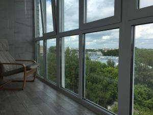 Вид на сад в Apartment Venetsiya - Paris или окрестностях