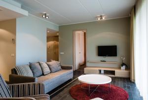 The lounge or bar area at Kuressaare Marina Apartment