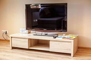 Telewizja i/lub zestaw kina domowego w obiekcie Apartament Pszczyna Centrum
