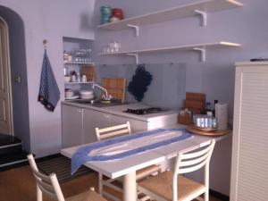 Cucina o angolo cottura di Light blue in Portofino
