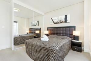 A room at Glebe Self-Contained Modern One-Bedroom Apartments