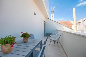 A porch or other outdoor area at Chiado Square Apartments | Lisbon Best Apartments
