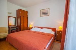 Krevet ili kreveti u jedinici u objektu Apartments Ankora