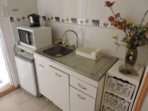A kitchen or kitchenette at Apart Centro