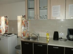 O bucătărie sau chicinetă la Goossens Apartments