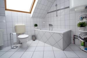 Ein Badezimmer in der Unterkunft Ferienwohnung am Horstsee
