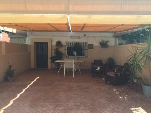 A porch or other outdoor area at Casa Las Delicias