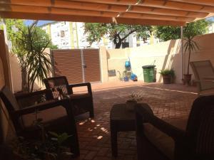 The lounge or bar area at Casa Las Delicias