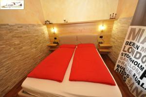 Postel nebo postele na pokoji v ubytování Baita Carosello
