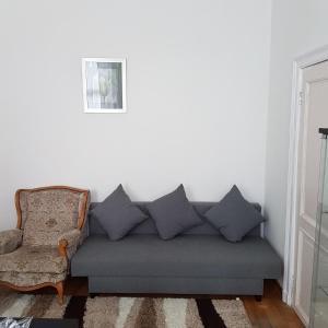 A seating area at Rue masure