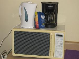 Coffee and tea-making facilities at Russell Heights