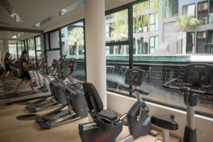 The fitness center and/or fitness facilities at Acqua Condominium By Mr.Butler