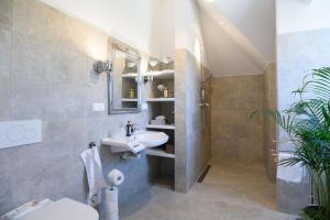 Ein Badezimmer in der Unterkunft golf-apartment