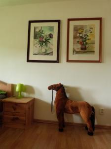 Domácí mazlíčci ubytovaní s hosty v ubytování Apartmán Susice