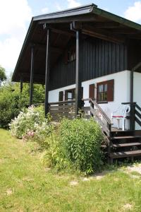 A porch or other outdoor area at Waldferienhaus
